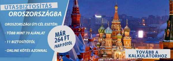 utasbiztosítás-oroszország